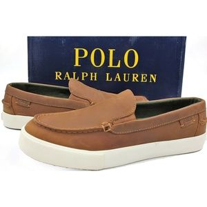 POLO RALPH LAUREN Trentham Waxy Pull Up Size 8.5